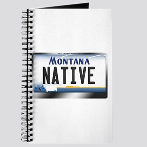 Montana License Plate - [NATIVE] Journal